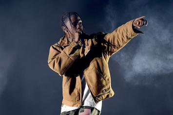 "Travis Scott Announces "".Wav"" Party For Friday In LA; Says Details On Album To Come At Party"