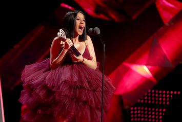 Cardi B's iHeartRadio Speech Included Amazing Facial Expressions & Soundbites