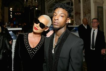 Did 21 Savage & Amber Rose Break Up?