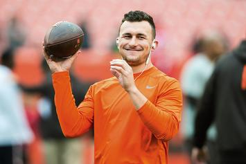 Johnny Manziel Reportedly Marries Brie Tiesi In Private Ceremony