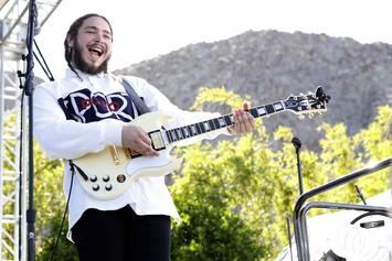 """Post Malone Jokes About Calling His Debut """"Album Of The Year"""""""