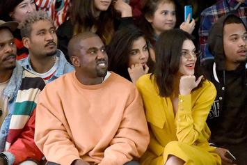 """Kanye West Performs """"Happy Birthday"""" At Kris Jenner's 60th Blowout"""