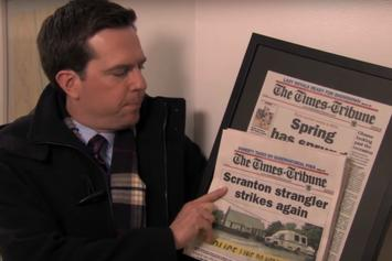 """""""The Office"""" Revival Rumours Spurred By """"Making A Strangler"""" Parody Video"""