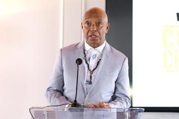 Russell Simmons Seen Kissing A Lady Friend Post Assault Denial