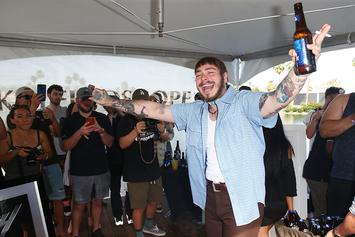 Post Malone Reveals Album-Branded Beerbongs & More New Merch