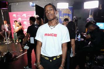 """A$AP Rocky Says He Wanted To Re-Do His Verse On """"M'$"""" After Hearing Lil Wayne's"""