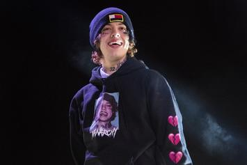 "Lil Xan Joined Onstage By Lookalike, ""Shameless"" Actor Ethan Cutkosky"
