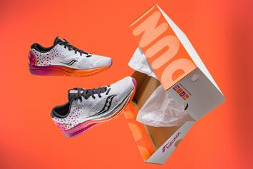 Dunkin Donuts x Saucony Launch Collaborative Running Shoe