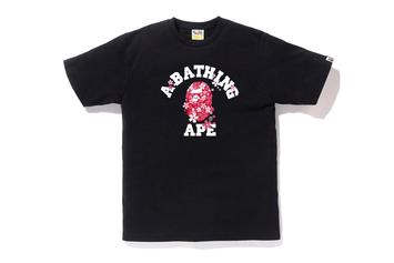 BAPE Celebrates Cherry Blossom Season With New T-Shirts
