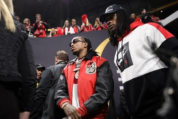 Quavo Joined By Julio Jones, 2 Chainz, 21 Savage & More In Charity Flag Football Game