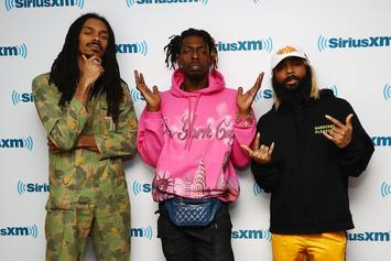 Flatbush Zombies Set It Off On Funk Flex With Savage Freestyle