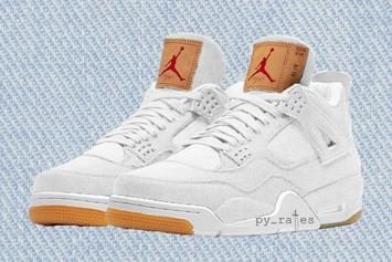 Levi's x Air Jordan 4 To Release In Two New Colorways