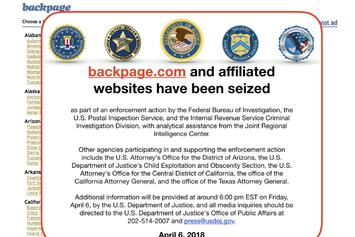 Backpage.com Shut Down By Federal Government