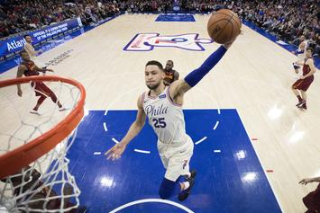 "Ben Simmons Says He's ""100%"" The NBA Rookie Of The Year"