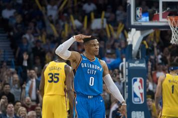 Russell Westbrook Is This Close To Averaging A Triple-Double Again