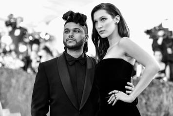 The Weeknd & Bella Hadid Make Out All Night At Coachella After Party: Report