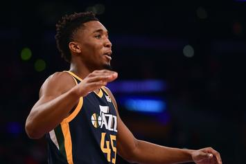 Utah's Donovan Mitchell Cleared To Play In Game 2