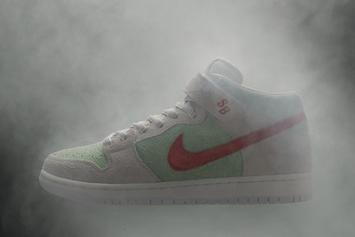 """White Widow"" Nike SB Dunk Mid To Release On 4/20"