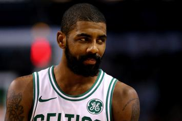 "Kyrie Irving Still ""Locked In"" With Boston Celtics Despite Injury"