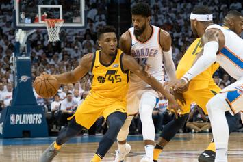 Donovan Mitchell Tops Jordan's Record In First Two Playoff Games