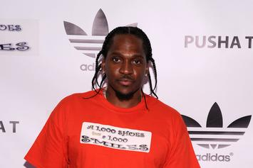 Pusha T In Studio With The Neptunes [Update: Studio Session Actually For New Clipse Album]