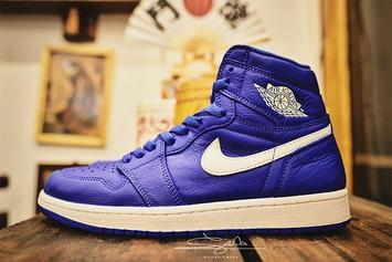 "Air Jordan 1 ""Hyper Royal"" Set To Release In July"