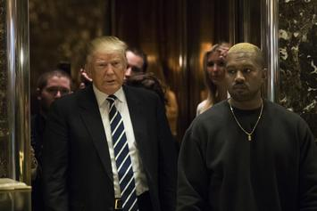 "Kanye West Is Reportedly Signing His Merchandise With ""Trump"""