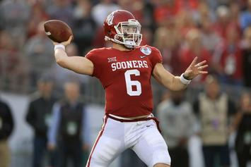"Cleveland Browns ""Definitely"" Considering Baker Mayfield As #1 Pick"