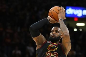 LeBron James Hits Game-Winning Buzzer Beater Against Pacers