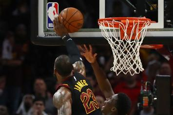 "Victor Oladipo On LeBron's Game-Saving Block: ""It Was A Goaltend"""