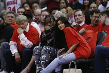 Kylie Jenner Rents Out Six Flags For Travis Scott's Birthday