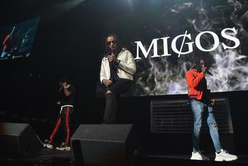 "Watch Migos Perform ""T-Shirt"" On Jimmy Fallon"