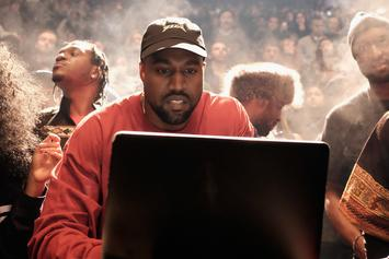 "Watch Kanye West & T.I. Work On ""Ye Vs The People"" In The Studio"