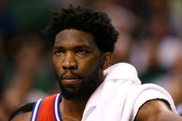 """Joel Embiid On Game 1 Loss: """"I Thought I Was Shitty"""""""