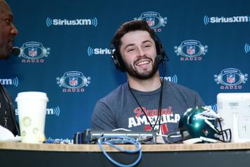 Patriots Discussed Trading Up For Baker Mayfield: Report