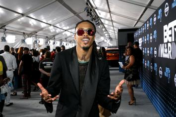 August Alsina Lashes Out At Crowd After Losing Hat At Concert