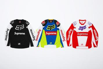 Supreme x Fox Racing Collection Unveiled
