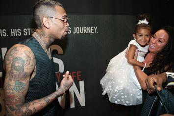 "Chris Brown's Daughter Royalty Sings Him ""Happy Birthday"" In Cute Videos"