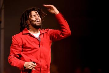 "J. Cole Performs An Acapella Version Of ""1985"" During Dallas Concert"