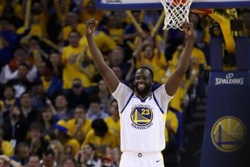 "Warriors' Draymond Green To Rockets: ""It's Time To Play"""