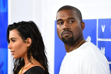 Kanye West & Kim Kardashian Are All Smiles After Getting BBQ In Wyoming