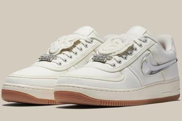 "Travis Scott x Nike Air Force 1 Low ""Sail"" Releasing This Year"
