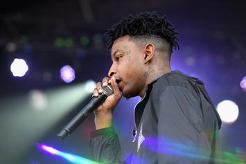 Watch 21 Savage Brave The Rain At Rolling Loud Performance