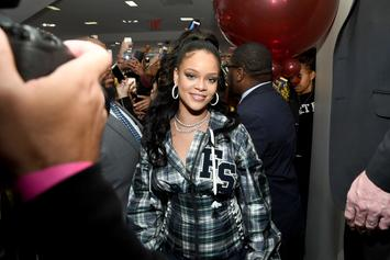 Rihanna's Home Intruder Charged With Felony Stalking & Burglary