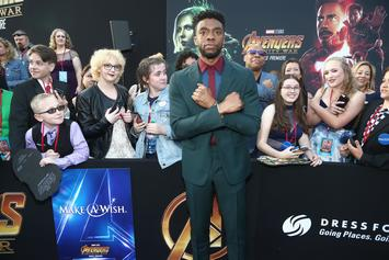 """Chadwick Boseman's Fans Go To Great Lengths To Do The """"Wakanda Forever"""" Salute"""