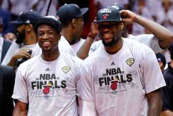 Dwyane Wade Reveals Photo Of LeBron That He Wants To Hang In His Home