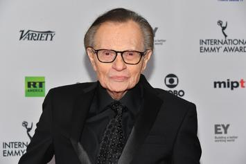 "Larry King Says Morgan Freeman Accusations Are ""Terrible"""