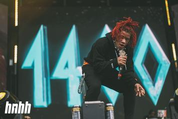 Trippie Redd Posts Up With The Legendary Timbaland