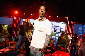"A$AP Rocky Details How He & Skepta Tripped On LSD While Making ""Praise The Lord"""
