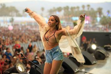 Tinashe Goes Clubbin', Seen Chatting With Ex's Rival Donovan Mitchell